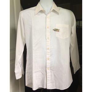 YSL Yves Saint Laurent Men's Shirt White 16 32-33